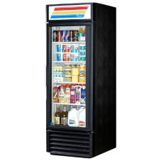 True GDM-23-LD Black Glass Door 23 Cu. Ft. Refrigerator Merchandiser