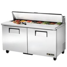 True TSSU-60-16 2-Door 16-Pan 15.5 Cu Ft S/S Sandwich & Salad Unit