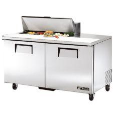 True TSSU-60-10 2-Door 10-Pan 15.5 Cu Ft S/S Sandwich & Salad Unit