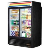True GDM-47RL-LD Glass Slide Door 47 Cu Ft Rear Load Refrigerator