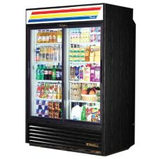 True® Glass Slide Door Rear Load Refrigerator, 47 Cubic Ft