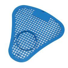 Impact® Blue Urinal Screen with Block Holder