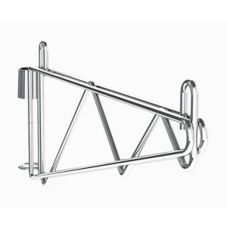 "Metro 1WS24C Super Erecta® Post Mount 24"" Chrome Shelf Support"