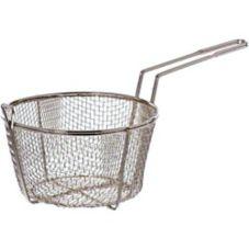 """Update International FB-8 8.5"""" Round Wire Fry Basket"""