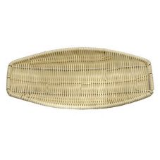 Schonwald Event Undecorated Oval Wicker Basket, 12&frac3/4;x5½