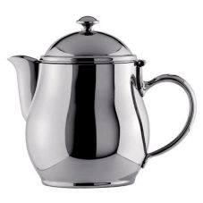 Oneida Jazz S/S 20 Oz Short Spout Teapot
