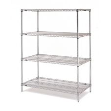Metro® EZ1848NC-4 18 x 48 Chrome Convenience Pak™ Unit