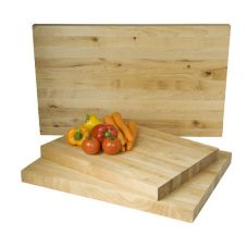 "Focus Foodservice 8937 24"" x 18"" Counter Butcher Block Board - 3 / CS"