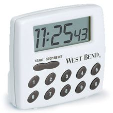 West Bend® 40005X 100 Min - 1 Second Electronic Timer