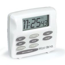 Focus Foodservice 40053 West Bend® Triple Timer with Clock