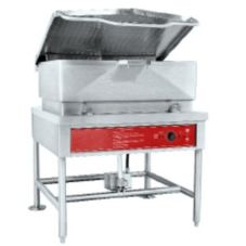 Blodgett 40E-BLP 40 Gal 15 kW Electric Braising Pan with Manual Tilt