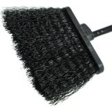 "Carlisle® 3688403 Duo-Sweep&Reg; 48"" Black Broom"
