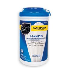 Sani Professional P92084 Sani-Hands® 300 Ct. Hand Wipes - 6 / CS