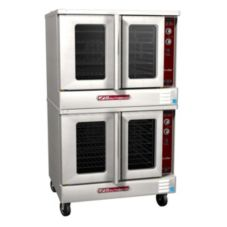 Southbend SLGS/22SC SilverStar Double Gas Convection Oven with Casters