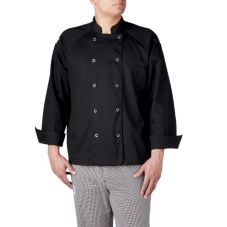 Chefwear® 4XL Black Four-Star Chef Jacket
