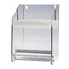"Acrylic Wall Label Dispenser For 3"" - 4"" Labels, Clear"