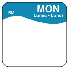 "DayMark 1101111 ReMark Bilingual 1"" Monday Day Square - 1000 / RL"