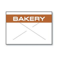 Garvey Prod. 1812-3110 Bakery Label For 18-6 Pricing Gun - 14003 / TB