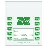 "DayMark 113017 5-1/2"" Day of the Week Friday Portion Bag - 2000 / BX"