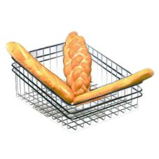 Dover Metals D-2002DS Steel Slanted Deli / Baker Wire Basket