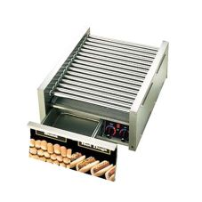 Star® Mfg Grill Max® 1650-W Grill f/ 45 Hot Dogs w/ Bun Drawer