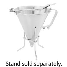 Paderno A4780019 Stainless Steel 2 Qt. Automatic Confectionary Funnel
