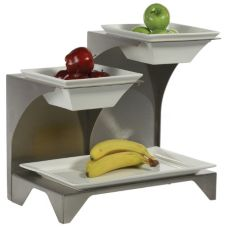 Buffet Euro STA3000D Stahl S/S Multi Level Fruit Stand