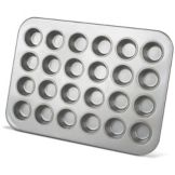 J.B. Prince M261 Aluminized Steel 24 Cup Mini Muffin Pan