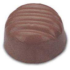 J.B. Prince K206 Plastic 40 Form Rigid Dome Chocolate Mold