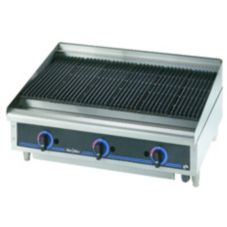 "Star® Mfg. Star-Max® Lava Rock Gas 36"" Char-Broiler"