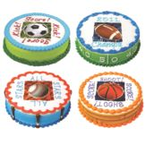 Lucks™ 33990 Edible Image® All Star Variety Pack - 12 / BX