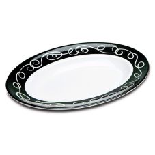 Delfin BOV-1712SO-020 3 Qt. White Oval Sorrento Bowl