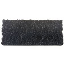 "Elite Global Solutions QS2410-GB Black Granite 24"" x 10"" Riser"