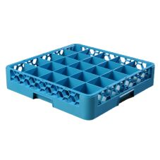 Carlisle® OptiClean™ 25-Compartment Blue Glass Rack