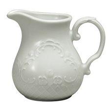 Oneida E3100000803 Marquis Porcelain White 5 Oz. Creamer - 36 / CS