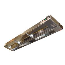 "APW Wyott FDL-30H-I 30"" Single Rod Heat Lamp w/ Infinite Control"