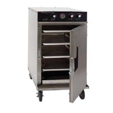 CresCor 1000-CH-SS-D-SPLIT 1/2 Size Mobile Radiant Cook/ Hold Cabinet