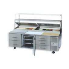 "Randell® 8395NPCB Refrigerated 95"" Food Prep Table"
