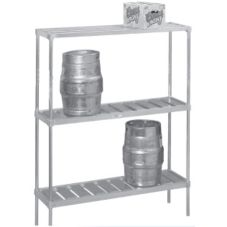 Channel KAR93 Keg Storage Rack with 10 Keg Capacity