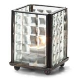 Hollowick® 1200 CSQO Mini Panel Lamp With Clear Optic Glass Panels