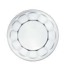 "Libbey 15411 Gibraltar 7-5/8"" Salad / Dessert Plate - 36 / CS"