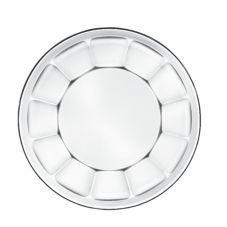 Libbey® 15412 Gibraltar 17.75 Oz. Soup/Salad Plate - 36 / CS