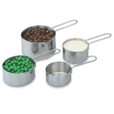 Vollrath® 47119 4-Piece S/S Measuring Cup Set