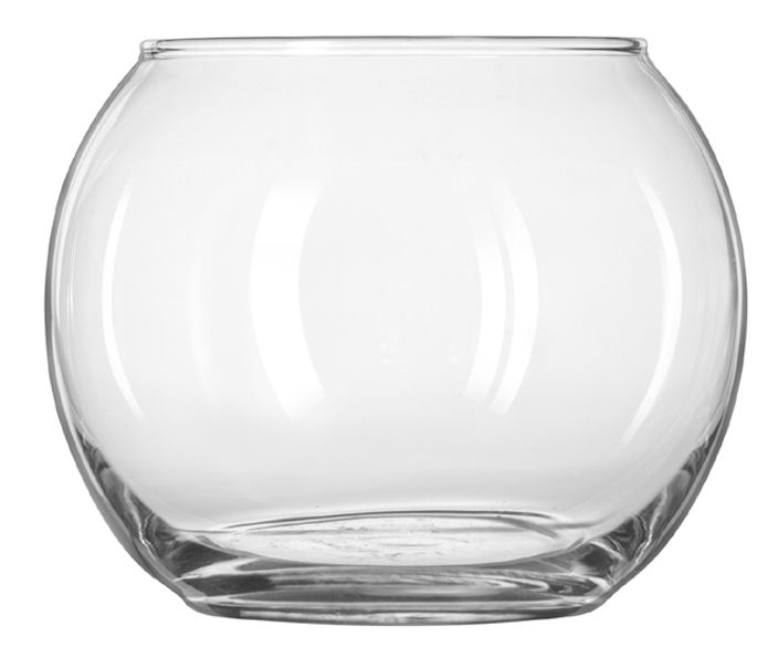 "Libbey® 841 4"" Glass Bubble Ball - 12 / CS"