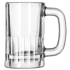 Libbey 5364 12 Oz Mug w/ Narrow Rectangular Panels - 12 / CS