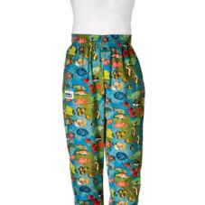 Chefwear® Large Tropical Fish Baggy Chef Pants
