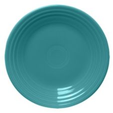 "Homer Laughlin China Fiesta® Turquoise 9"" Plate"