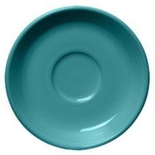 "Homer Laughlin China 470107 Fiesta Turquoise 5-7/8"" Saucer - 12 / CS"