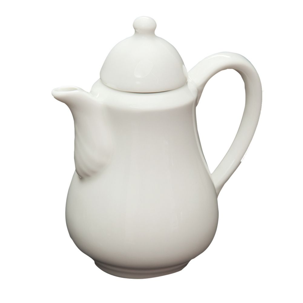 Homer Laughlin 6326000 Pristine® Lid for Teapot - 12 / CS