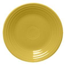 """Homer Laughlin China 465320 Fiesta® Sunflower 9"""" Plate - 12 / CS"""